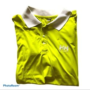 Helly Hansen Impressive green Polo shirt. Large .
